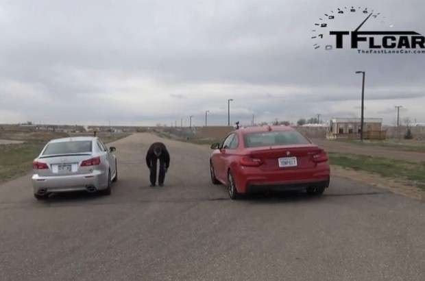 BMW M235i vs. Lexus IS F