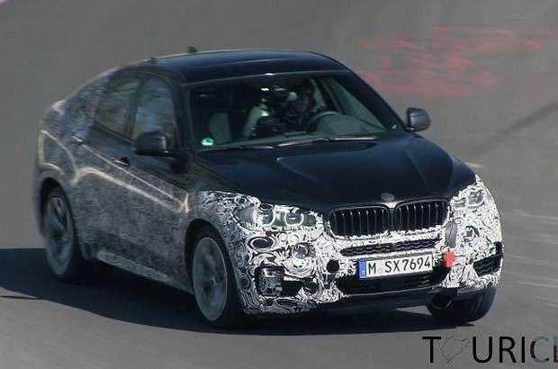BMW X6 2015 spy