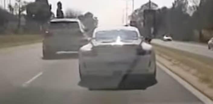 Porsche 911 GT3: wypadek w mieście