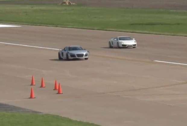 Audi R8 GT vs Lamborghini Gallardo