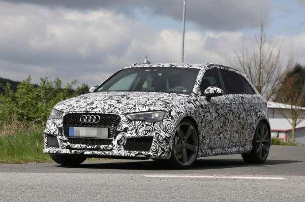 Audi RS3 Sportback 2015 spy