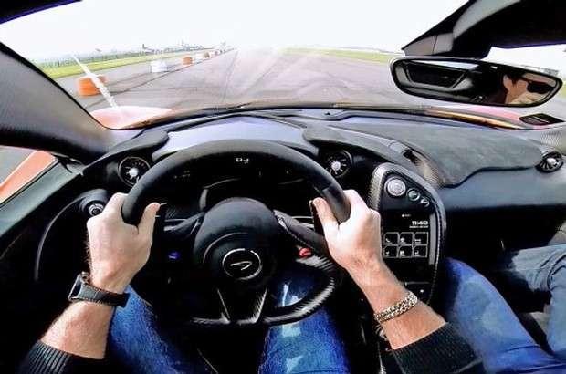 McLaren P1 onboard