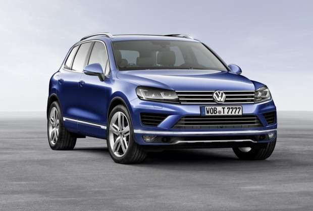 Nowy Volkswagen Touareg facelift