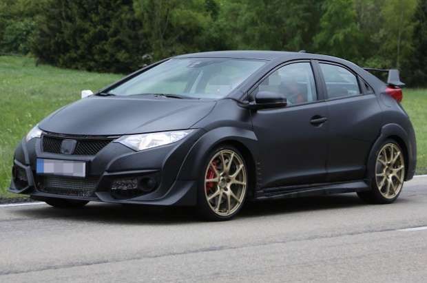 Honda Civic Type R 2015 spy