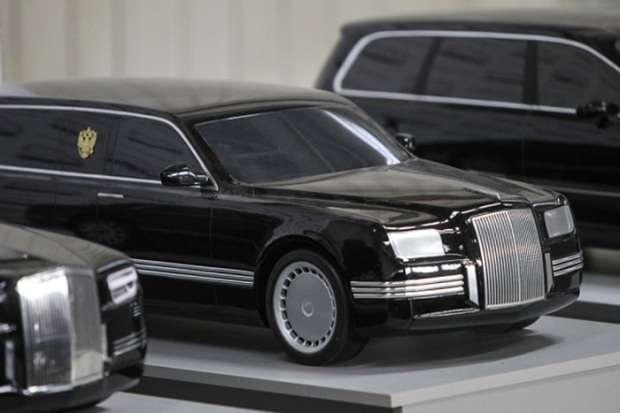 Władimir Putin limuzyna