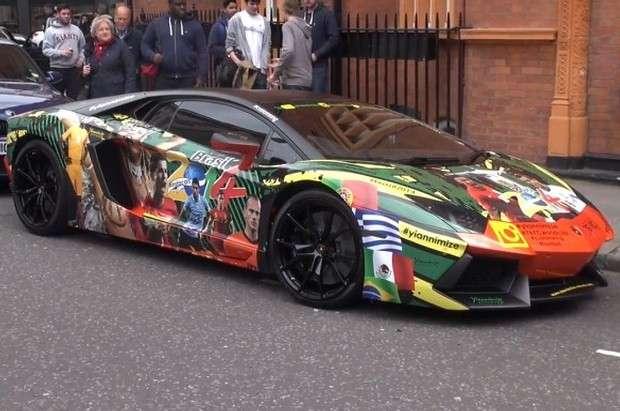 Lamborghini Aventador World Cup 2014