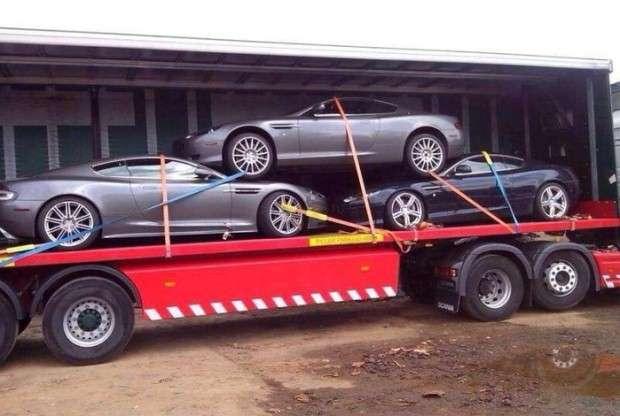Aston Martin transport w Polsce
