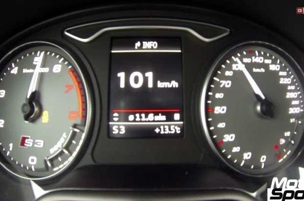 Audi S3 licznik