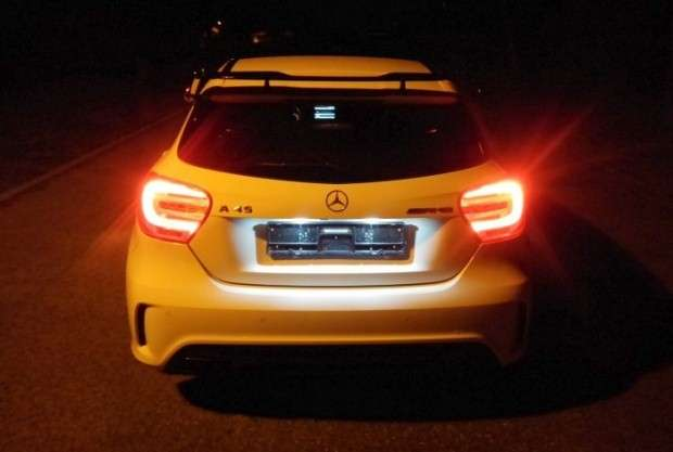 Mercedes-Benz A45 AMG sound
