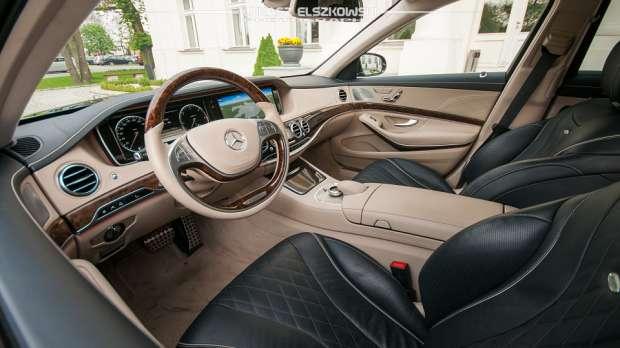 Mercedes S-Class W222 interior