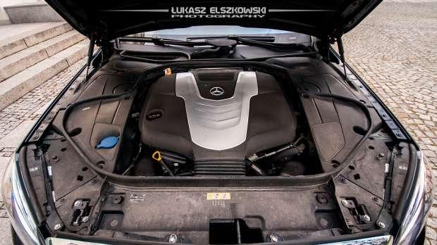 Mercedes S-Class W222 engine