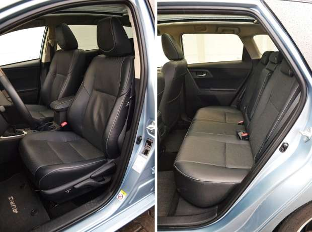 Toyota Auris Touring Sports D4-D interior