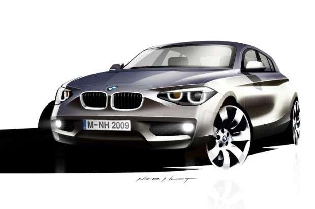 BMW 1 2018 render