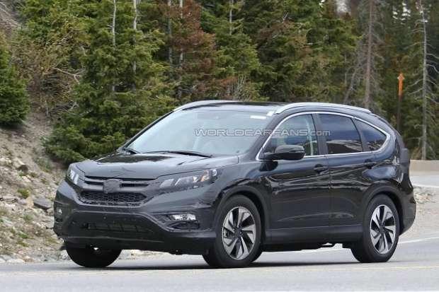 Honda CR-V 2015 facelift szpiegowskie