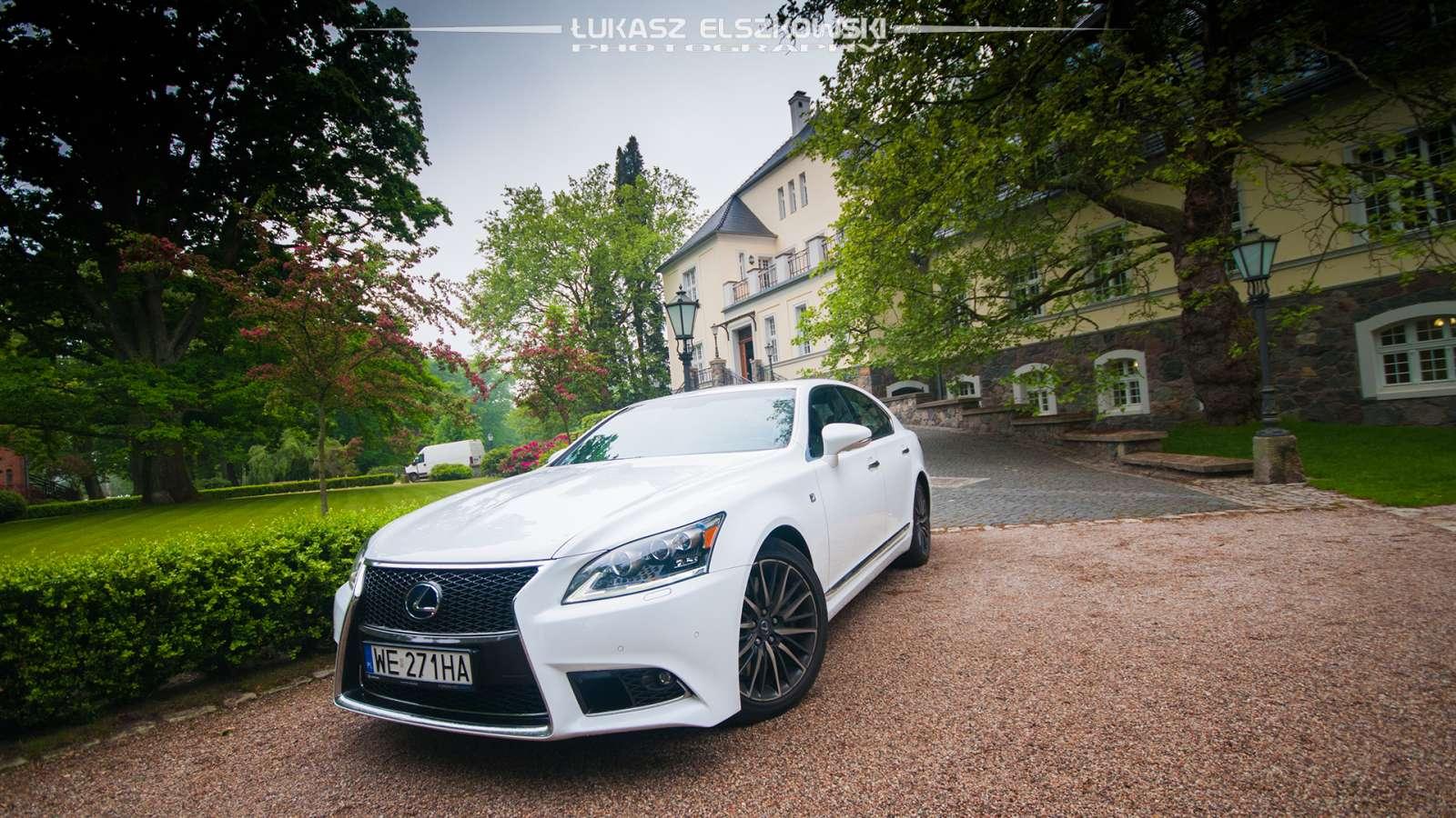 Lexus LS600H F-Sport 2013