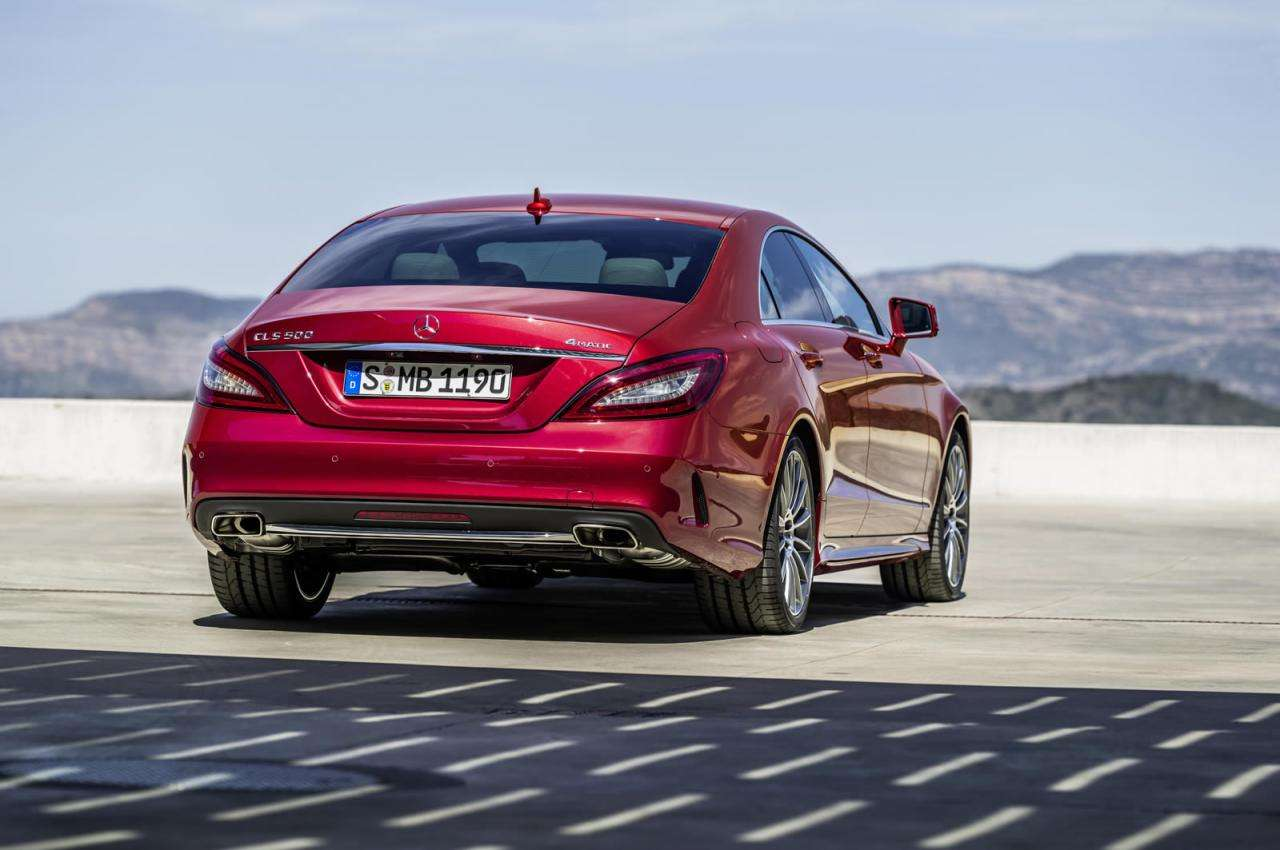Mercedes-Benz CLS 2015 Facelift
