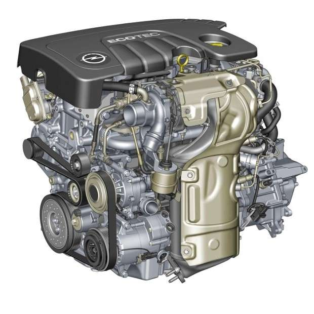 Opel Astra engine