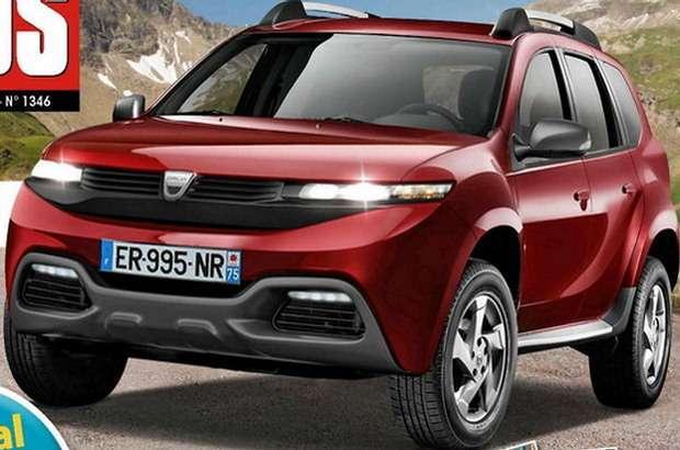 Dacia Duster 2017 rendering