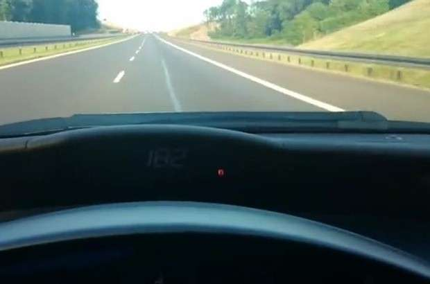 Honda Civic 184 km/h