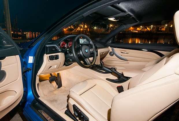 BMW 435i Coupe interior