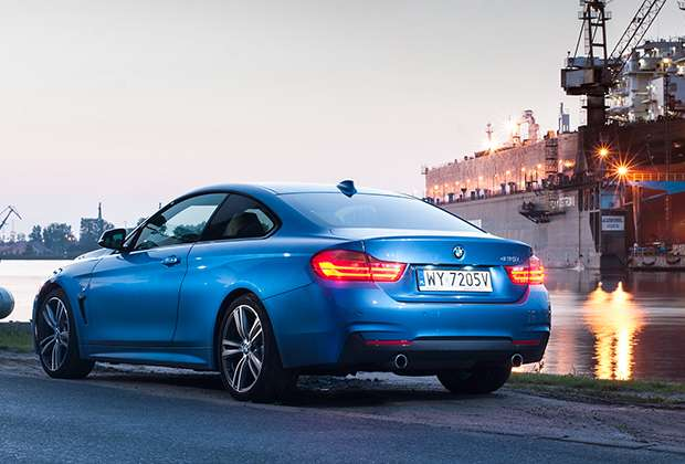 BMW 435i Coupe rear view