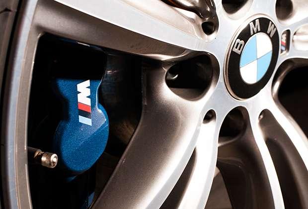 BMW 435i Coupe brakes