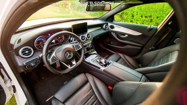 Mercedes C200 2014 interior