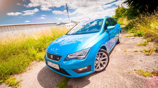 seat leon st fr 2 0 tdi 184 km test. Black Bedroom Furniture Sets. Home Design Ideas