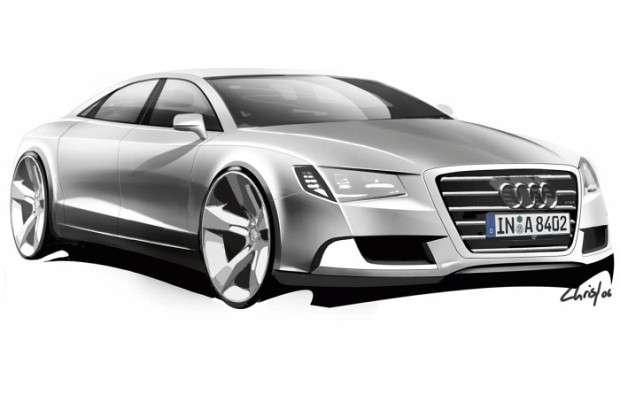 Audi A9 rysunek
