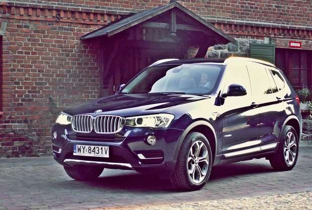 Nowe BMW X3 2014 facelift