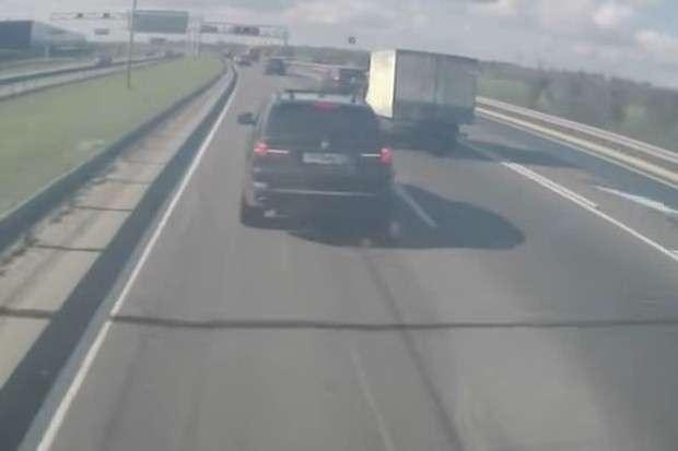 BMW X5 crash