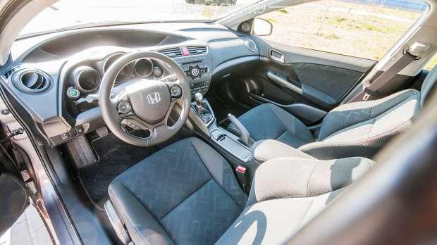 Honda Civic Tourer interior