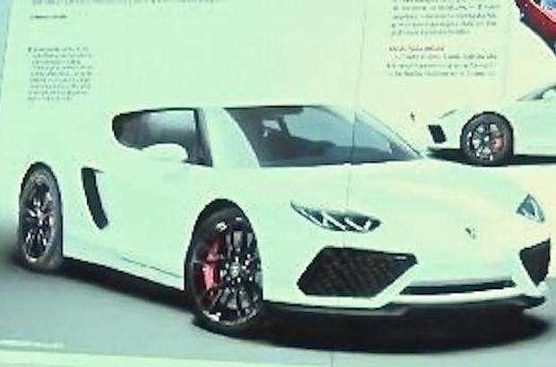 Lamborghini Asterion leaked