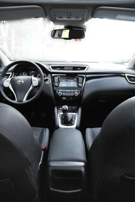 Nissan Qashqai 2014 1.6 4WD interior