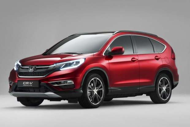 Nowa Honda CR-V 2015 Facelift