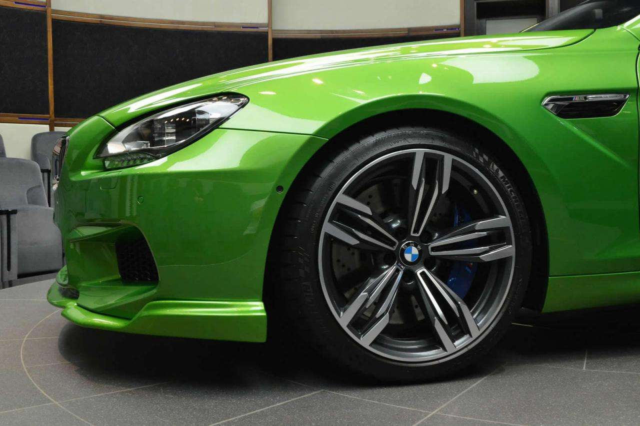 Bmw M6 Java Green