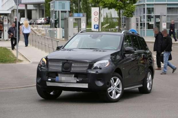 Mercedes M Facelift