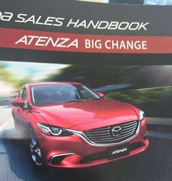 Mazda 6 Facelift