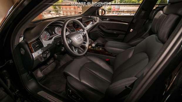Audi A8 2014 interior