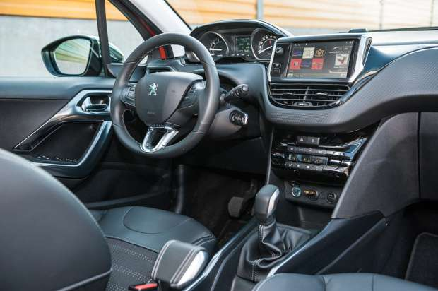 Peugeot 2008 interior