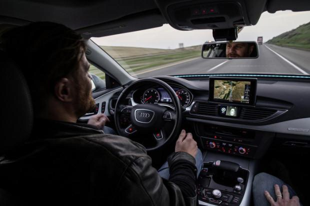 Audi A7 Piloted Driving