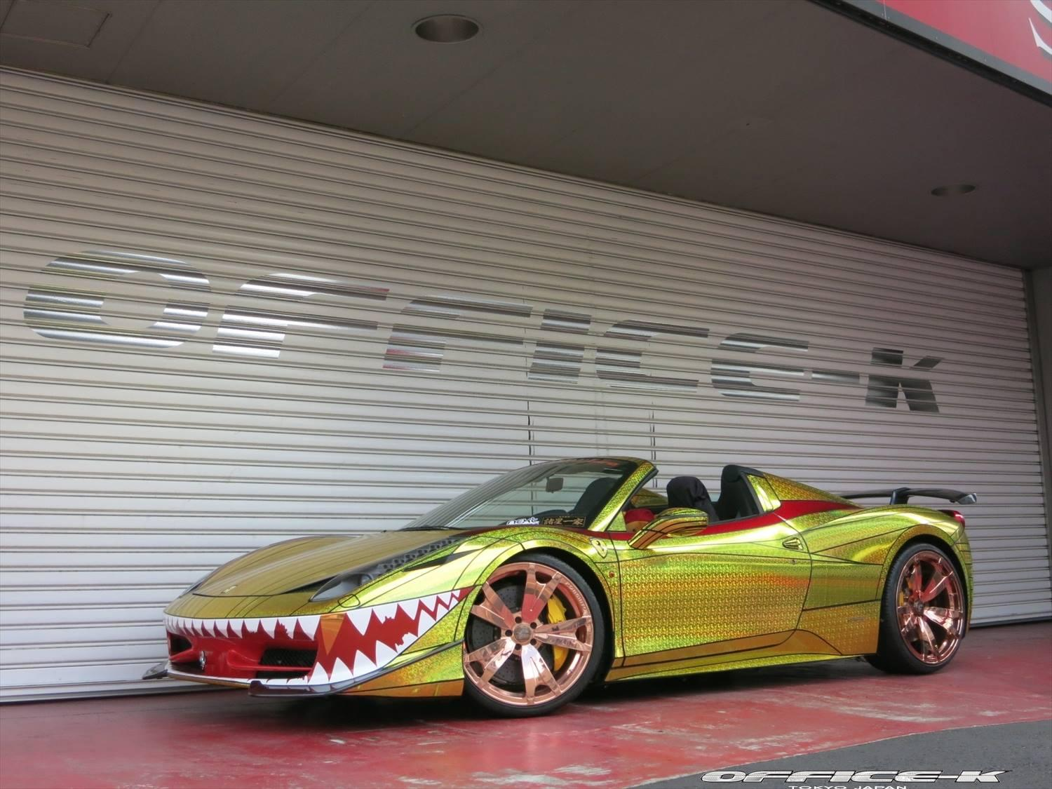 Ferrari 458 Spider Office-K