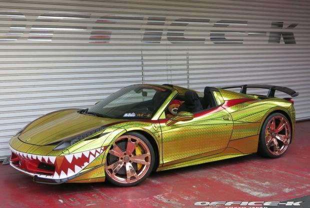 Ferrari 458 Spider Office-K