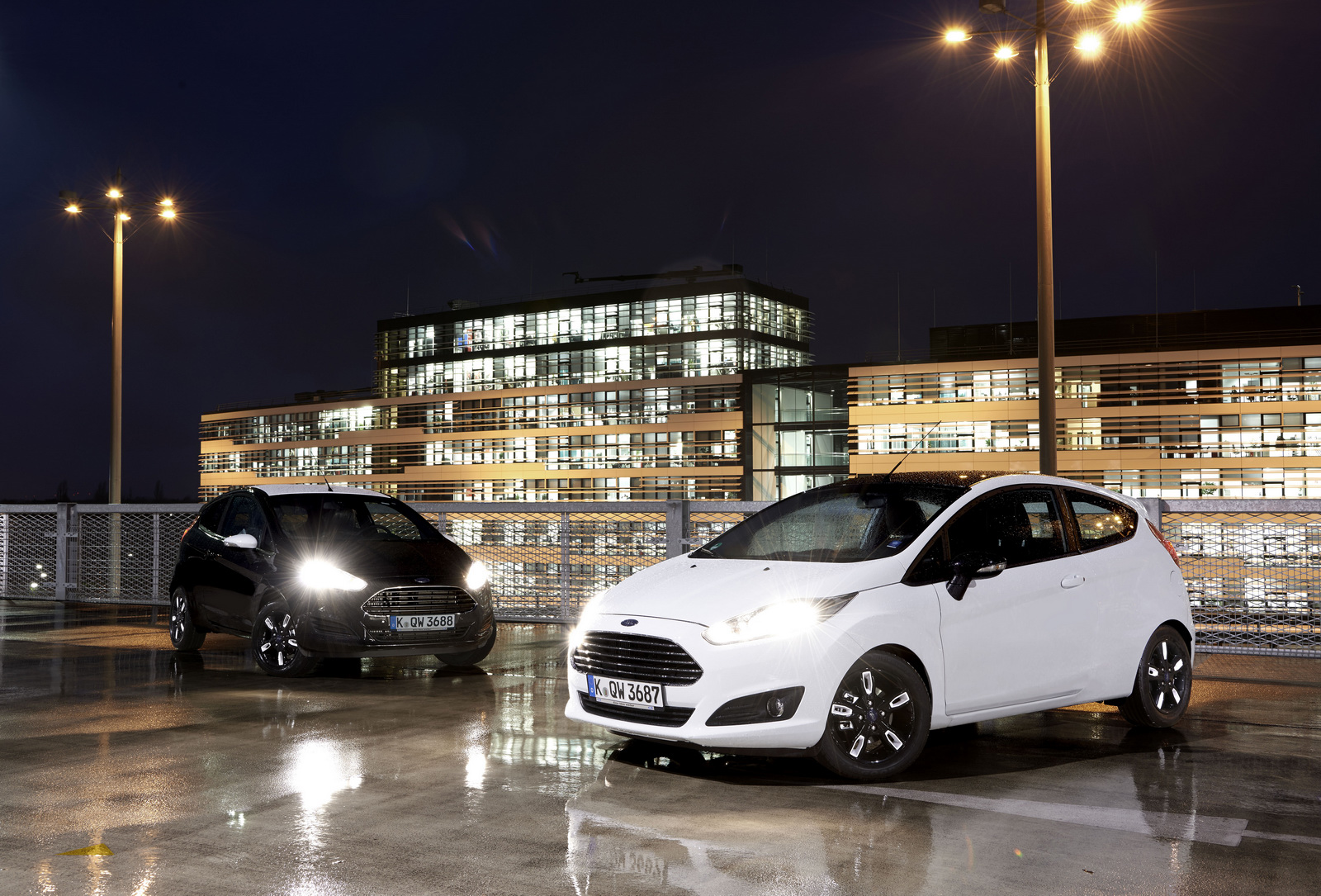Ford Fiesta Black and White