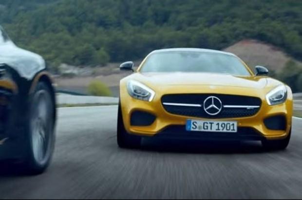 Mercedes AMG GT reklama