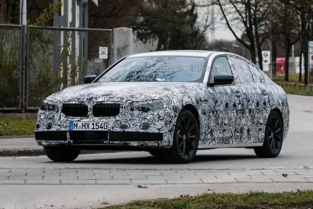 BMW 5 2016 spy