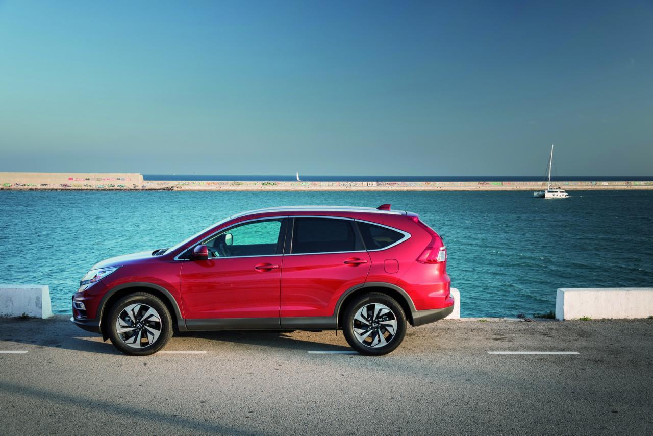Honda CR-V Facelifting