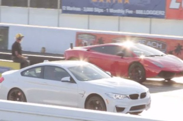 BMW M4 vs Gallardo