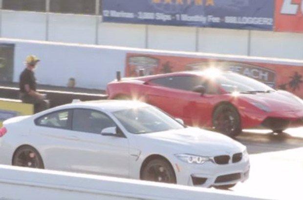 BMW M4 vs Gallardo
