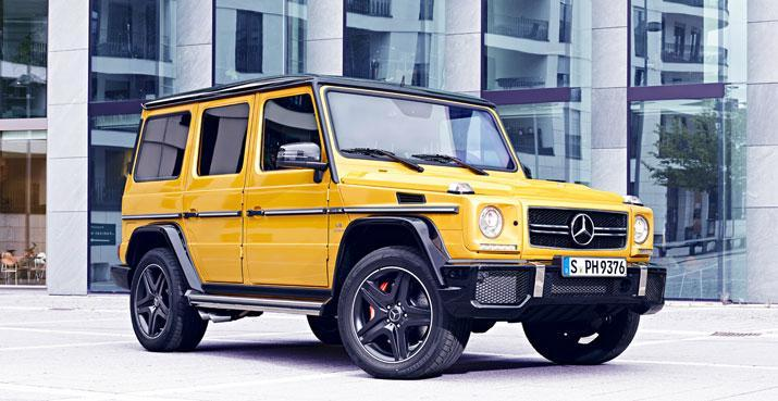 Mercedes G63 AMG Crazy Color